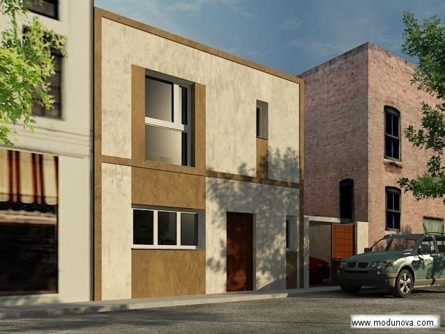 Casas prefabricadas l nea urbana modelo mir - Viviendas modulares prefabricadas ...